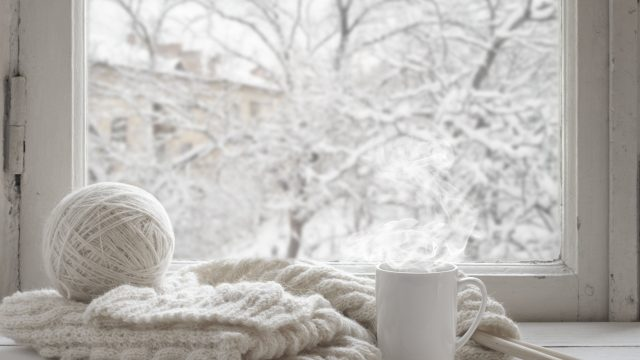 relax in winter