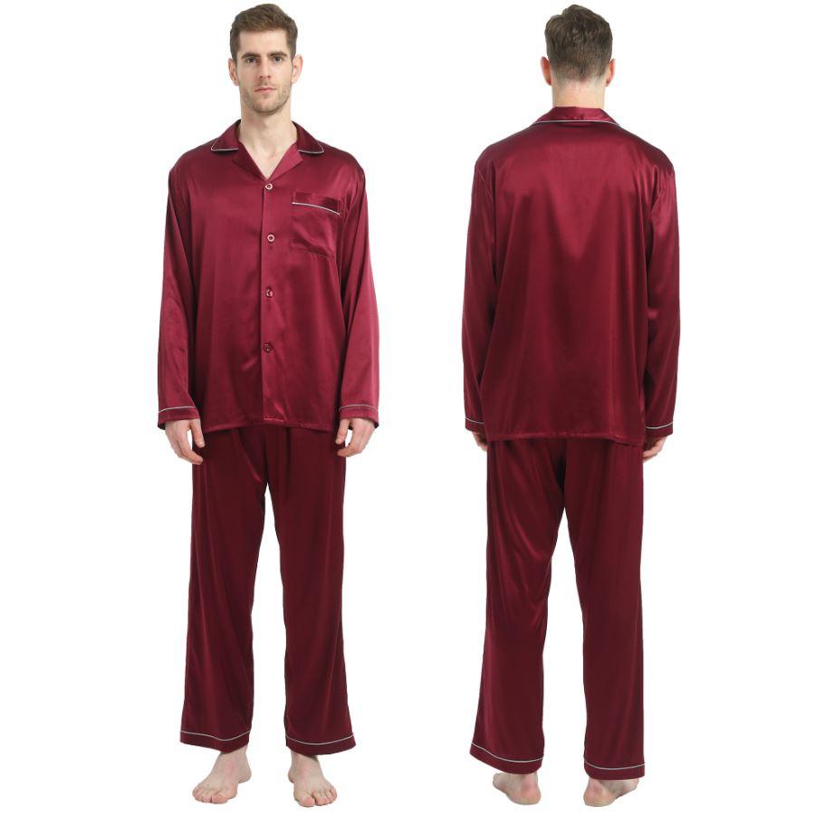 men's silk pyjamas