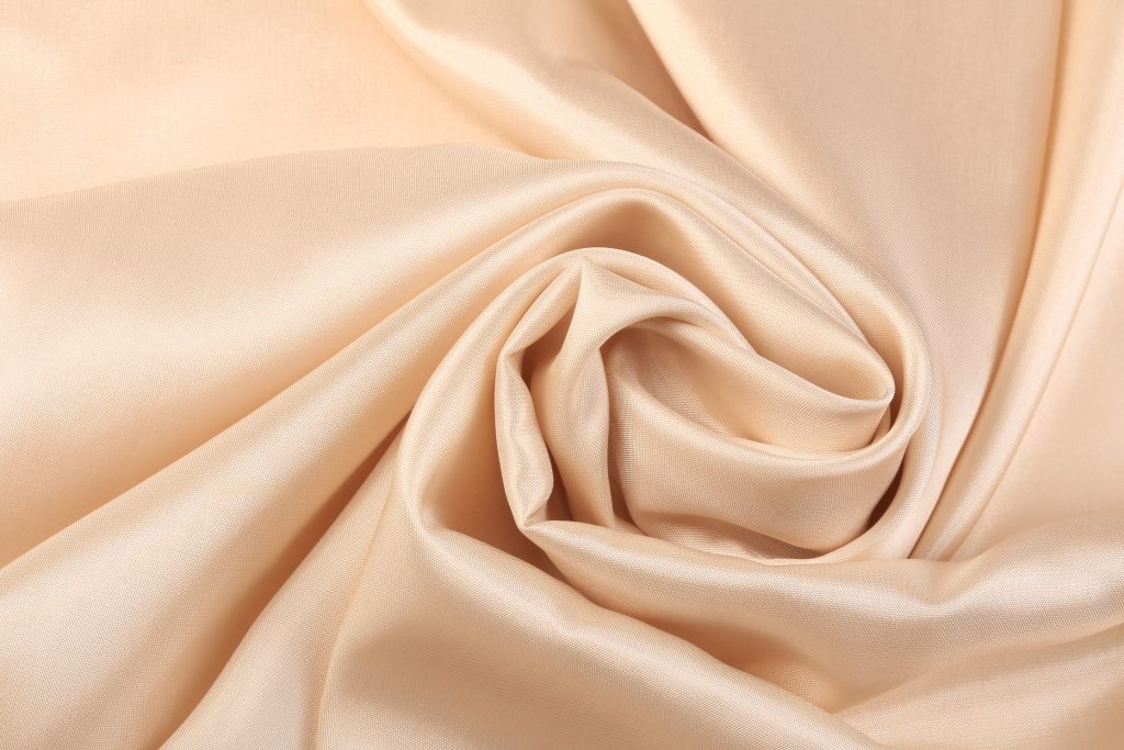 pale cream silk