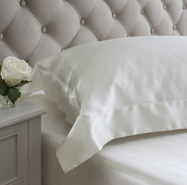 ivory oxford pillowcase