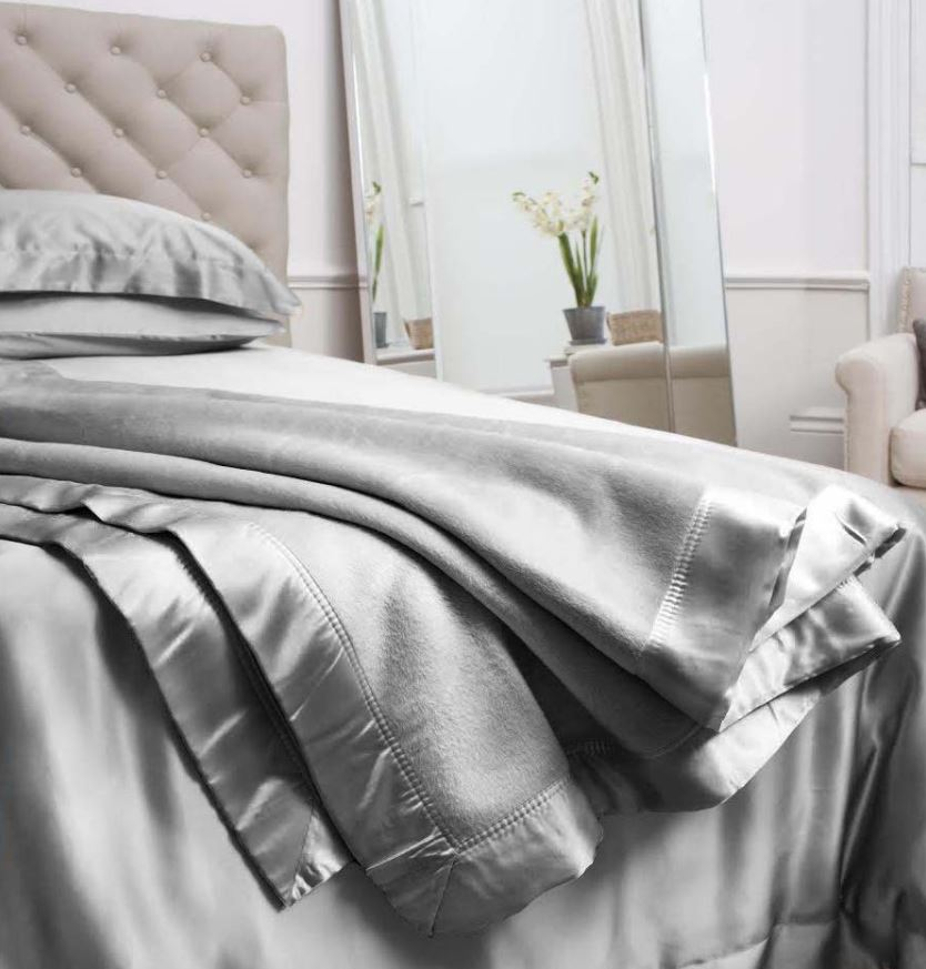 Grey Silk Blanket