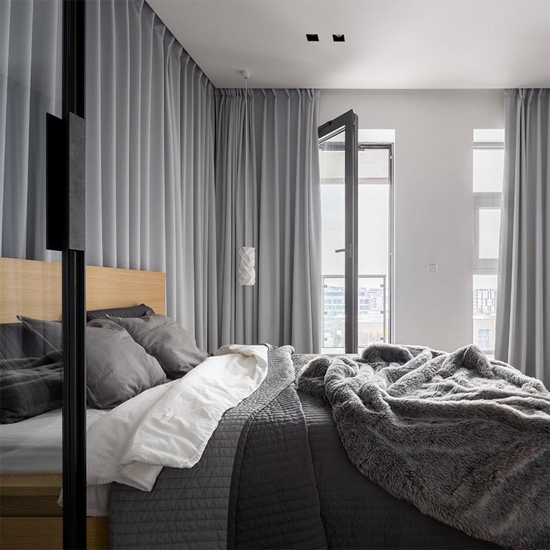 Luxury bed in a luxury hotel